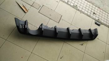 suzuki swift scrit bodykit bumper rear diffuser