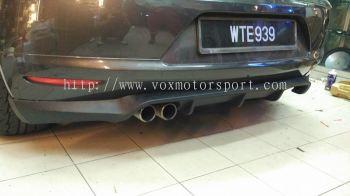 volkswagen scirocco bumper rear lip on bodykit oettinger pu