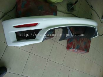 volkswagen scirocco bodykit rieger pu rear lip on