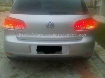 VOLKSWAGEN GOLF TSI 1.4 R20 LOOK LED TAIL LAMP