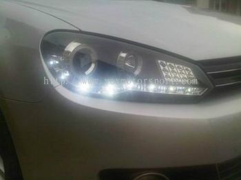 VOLKSWAGEN GOLF TSI 1.4 AUDI LOOK  PROJECTOR LAMP