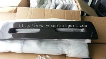mitsubishi lancer gt bumper evo x nose cover carbon fibre