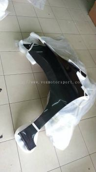 2014 2015 2016 2017 2018 2019 2020 honda fit jazz gk front side fender guard js racing style for jazz fit gk replace upgrade performance look real carbon fiber material new set