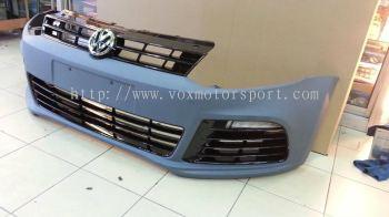 volkswagen polo r bumper pp new