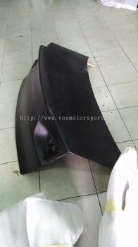 mitsubishi lancer gt trunk cover usdm
