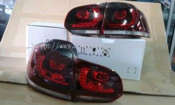 GOLF R20 LED TAIL LIGHT FOR VOLKSWAGEN GOLF 6