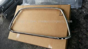 mitsubishi asx grill trim chrome ckd new