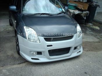 suzuki swift bodykit monster style for swift bumper replace upgrade monster style performance look frp material new set