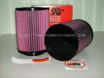k&n air filter universal size