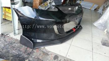 honda fit gd js racing bumper lip cf