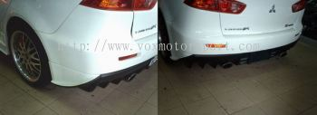 PROTON INSPIRA BODYKIT BLACK ILLUTION REAR BUMBER