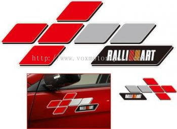 PROTON INSPIRA BODYKIT STICKER RALLIART