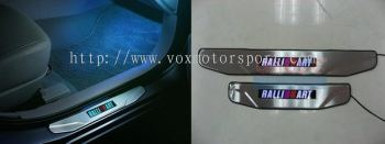 PROTON INSPIRA RALLIART SCUFF PLATE WITH LED LIGHT