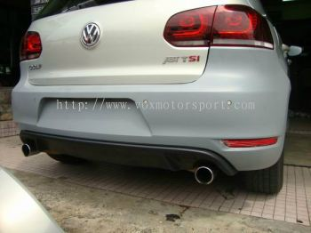 VW GOLF MK6 TSI BODYKIT GTI BUMPER REAR