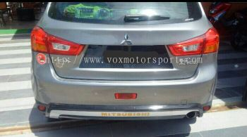 mitsubishi asx rear bumper guard