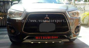 mitsubishi asx front bumper guard
