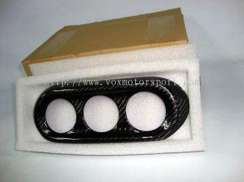 mitsubishi lancer ex aircond cover carbon