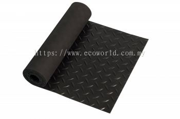 Diamond Plate Rubber Roll Mat