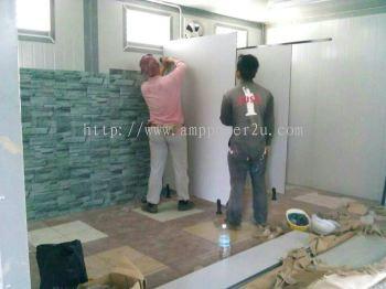 Toilet labour accommodation
