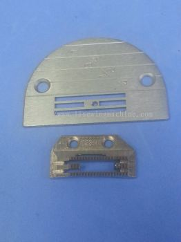 s/machine needle plate and feed dog