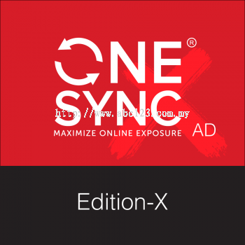 Online Ads - ONESYNC Edition-X (12 Bulan) - Newpages Network Sdn Bhd