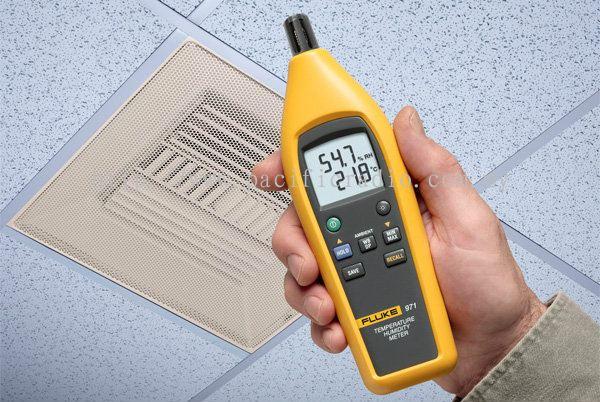 Temperature Humidity Meter : Selangor fluke temperature humidity meter air
