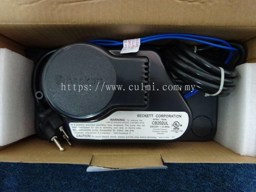 Selangor beckett cb202ul condensate removal pump beckett for Beckett tech support