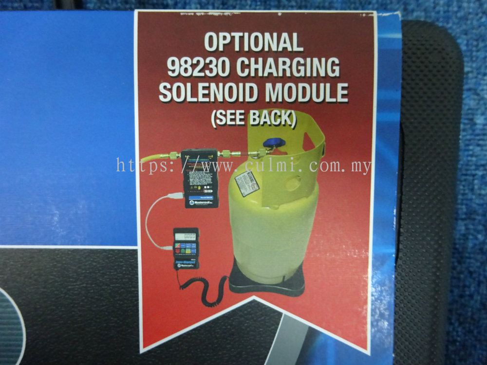 Selangor MASTERCOOL 98210-A ACCU-CHARGE II ELECTRONIC REFRIGERANT