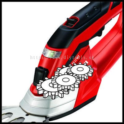 DIYTOOLS.SG : EINHELL CORDLESS GRASS AND BUSH SHEAR MODEL:GE-CG12LI C/W BUILT-IN BATTERY AND CHARGER.