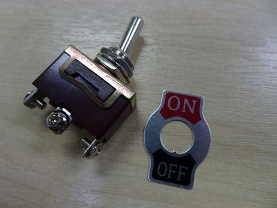 CKC 1021 TOGGLE SWITCH (ON/OFF) TYPE 1021 15A 220V