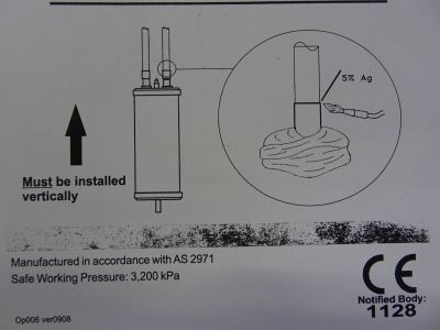 "HENRY 3210-6406 OIL SEPARATOR 3/8"" (ID)"