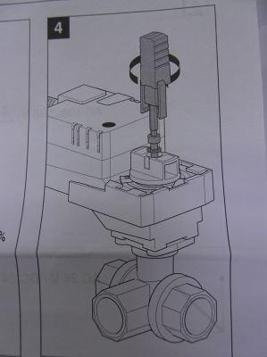 BELIMO LR24A-SR (5NM, AC/DC 24V 50/60HZ) MODULATING CONTROL VALVE ACTUATOR (REPLACED : LRU24-SR)