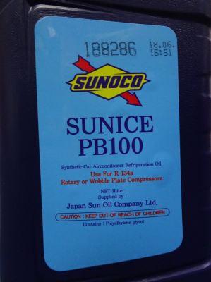 SUNICE PB100 X 1 LITRE POLYALKYLENE GLYCOL OIL ( SUNOCO JAPAN)