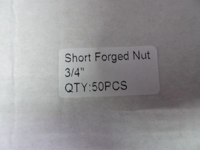 """CULMI SN-6 (3/4"""") FORGED FLARE NUT (BRASS) FOR R410A"""