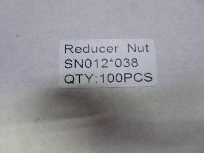 "CULMI SN012*038 (F 1/2"" X 3/8"") FLARE NUT REDUCER (BRASS)"