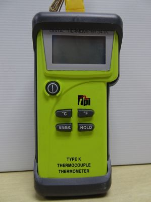TPI 341KC1 SINGLE INPUT K-TYPE THERMOCOUPLE THERMOMETER (-58 to +2,462 ��F)