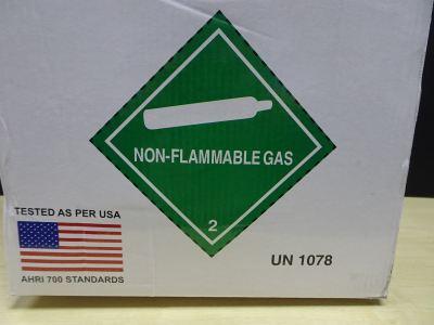 GAZ R410A X 25LBS (11.3KG) HFC REFRIGERANT GAS (PRODUCT OF SINGAPORE) (USA : AHRI 700 STANDARDS)