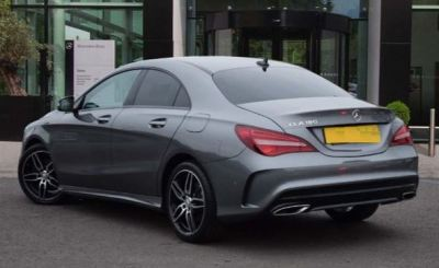 MERCEDES BENZ CLA180 FACELIFT AMG BODYKIT