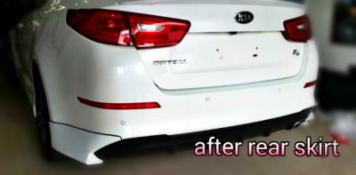 KIA OPTIMA K5 2015 FACELIFT BODYKIT WITH SPOILER