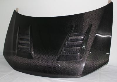 HONDA CIVIC 2012 FB JS RACING CARBON HOOD BONNET