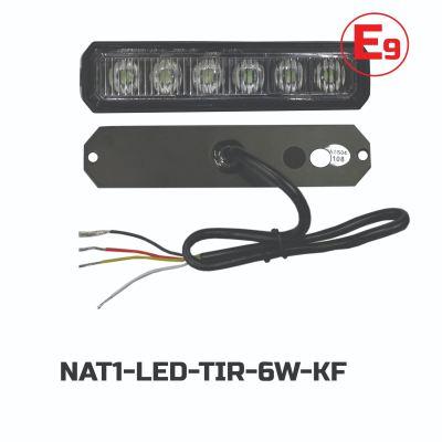 LED TIR 6LED(WHITE)(3W,12-24V)