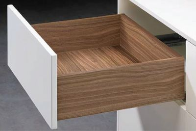 Hettich Quadro Drawer Runner Push to Open
