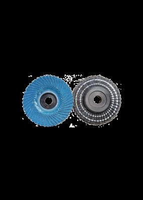 Flap Disc 427 (100x16mm ) (P60  80 120 ) ( MK TECH )