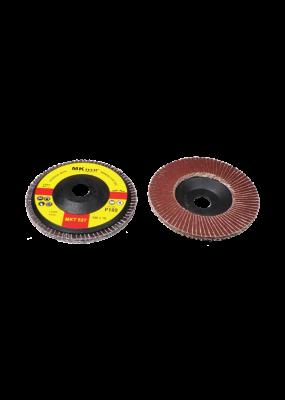 Flap Disc 527 (100X 16mm ) (P60 80 100 120 ) ( MK TECH)