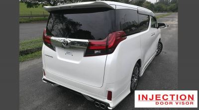 TOYOTA ALPHARD 15Y-ABOVE = INJECTION WITH STAINLESS STEEL LINING DOOR VISOR