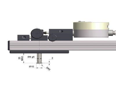 Intex Beam Gauge  - Standard Contacts