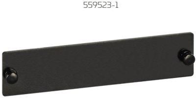 Fiber Optic Snap-In Blank Adapter Pack, black  559523-1