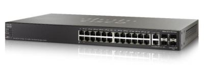 Cisco SG350X-24-K9-UK: 24-port Gigabit Stackable Switch