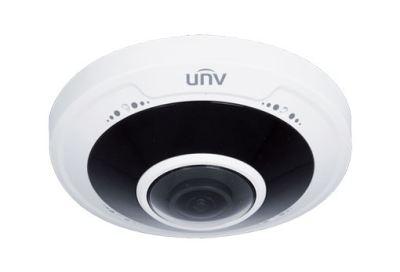 Uniview IPC868ER-VF18-B: 4K Ultra HD Vandal-resistant Fisheye Fixed Dome Camera