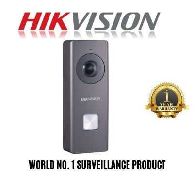 HIK VISION DS-KB6403-WIP: 12 VDC Wi-Fi Doorbell